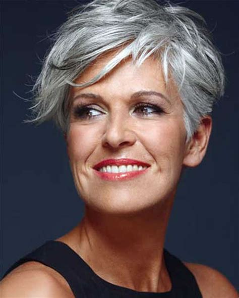 hairstyles with color tips for 50 years old short gray hairstyles for older women over 50 gray hair