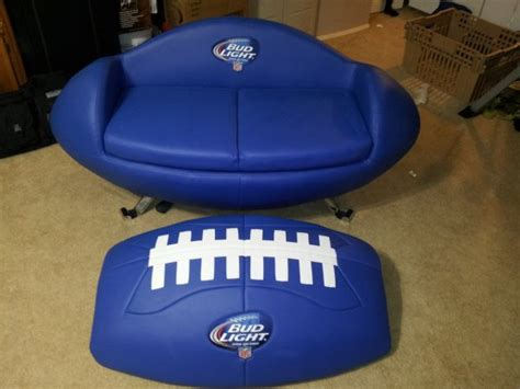 cooler couch fs ft budlight tailgate couch with cooler the outdoors