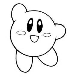 happy kirby coloring pages free printable coloring pages kids colouring pages coloring