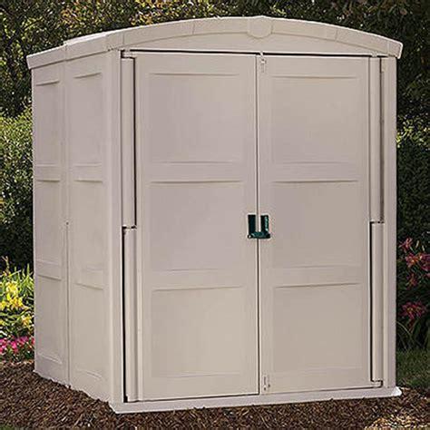 suncast large storage shed  patio storage