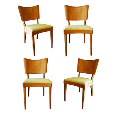 Heywood Wakefield Dining Chair Heywood Wakefield Closed Quot Stingray Quot Dining Side Chairs Set Of Four For Sale At 1stdibs