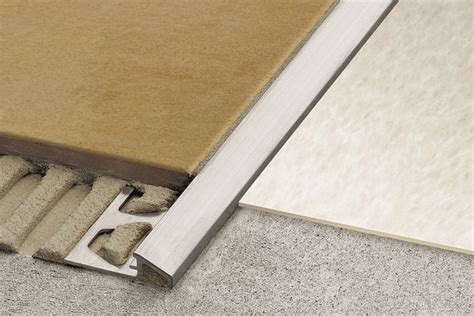 schluter edge schluter 174 reno u sloped transitions for floors