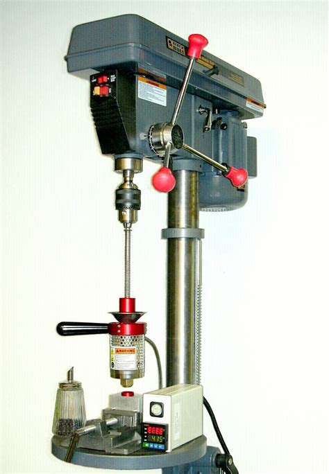 diy plastic injection machine mod a drill press with vice into a plastic injection