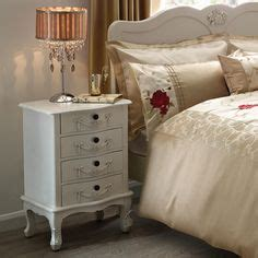french bedroom furniture bedside tables and white bedside