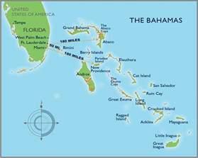map of florida and the bahamas bahamas map distances