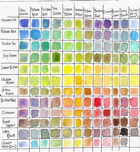25 best ideas about colour chart on color charts names for houses and name
