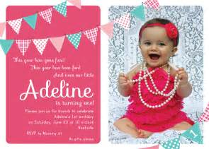 1st birthday invitation card for baby baby s 1st birthday invitation cards ideas