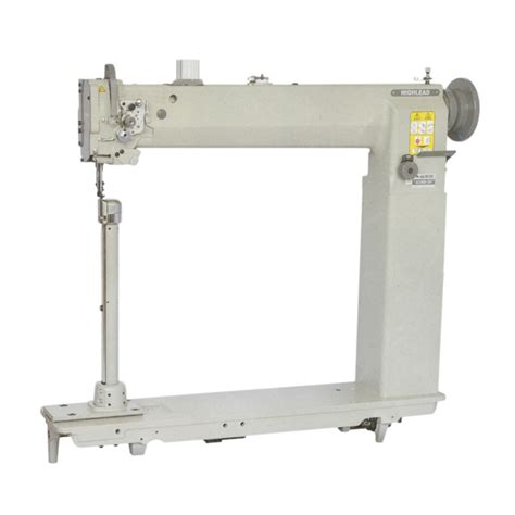 post bed sewing machine long arm high post bed compound feed lockstitch sewing