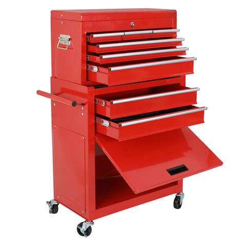 rolling tool storage cabinets 2 pack top chest rolling tool storage box cabinet with