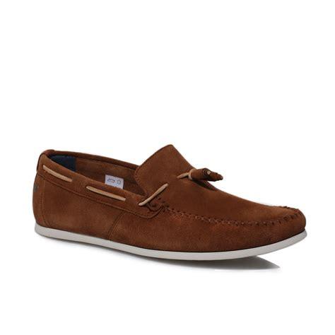 base mens joplin brown suede moccasins deck boat shoes size 7 11 ebay