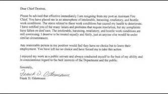 resignation letter format awesome letter of resignation