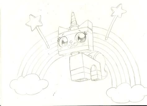 unikitty lego coloring page how to draw princess unikitty from the lego movie