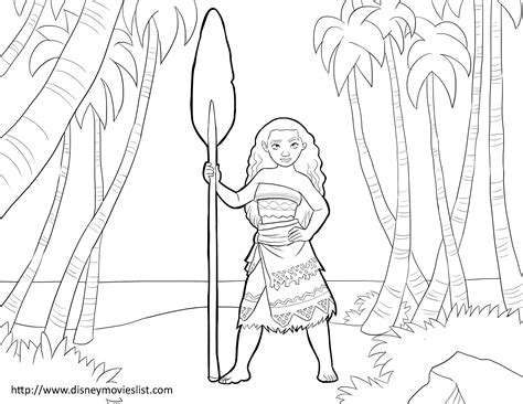 coloring pages disney moana disney s moana coloring pages sheet free disney printable
