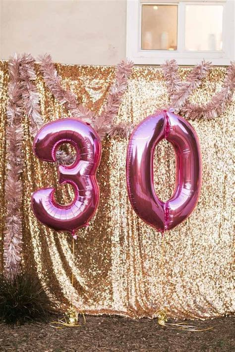 Thirty Birthday Decorations by 25 Best Ideas About 30th Birthday On Thirty