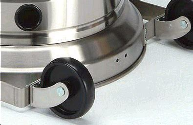 Patio Heater Wheels Whynter Solaris Stainless Steel Patio Heater Ph 2850