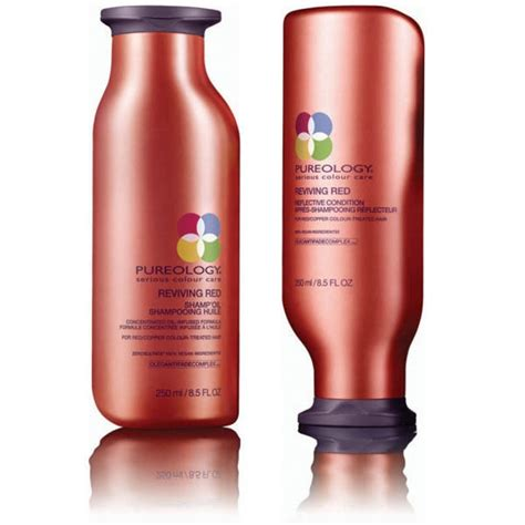 Five Conditioners For Coloured Hair by Pureology Reviving Shoo And Conditioner How To Be