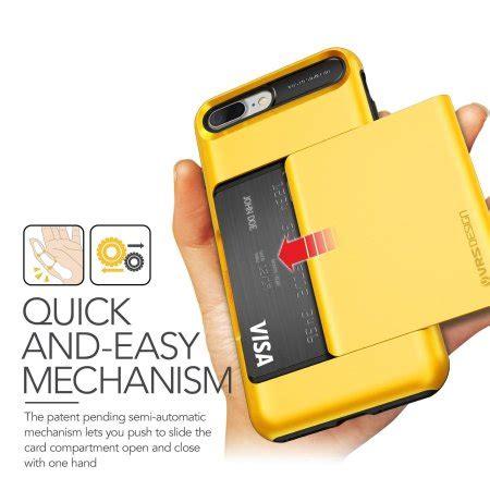 vrs design damda glide iphone 7 plus indi yellow