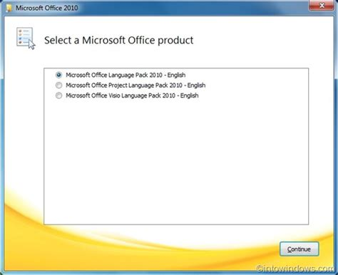 Install Microsoft Office how to install microsoft office 2010 language pack