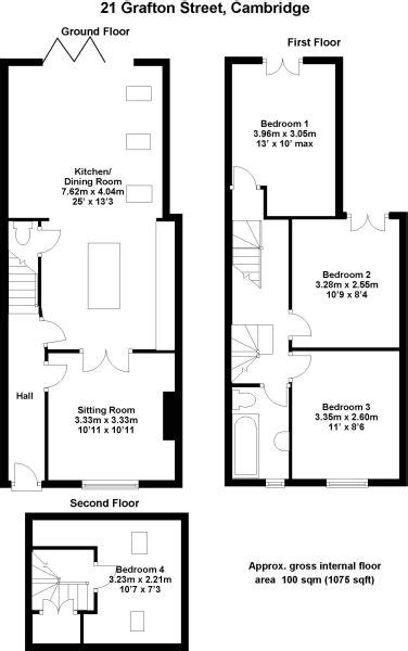 terraced house loft conversion floor plan 1000 images about terraced house layout on pinterest