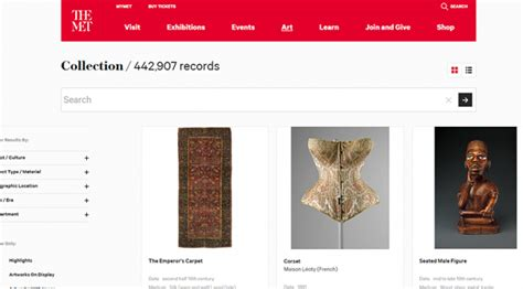 amsterdam university museum studies metropolitan museum collection online available film