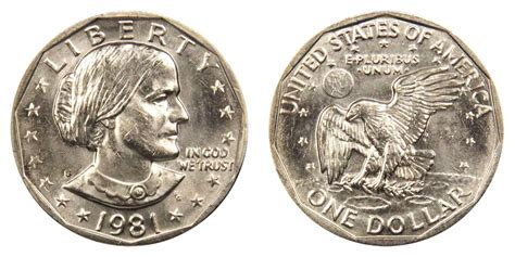 1981 s susan b anthony dollars value and prices