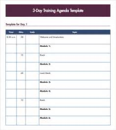 workshop agenda template sle agenda 7 exle format