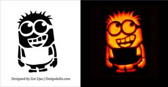 minion pumpkin carving template cool easy pumpkin carving