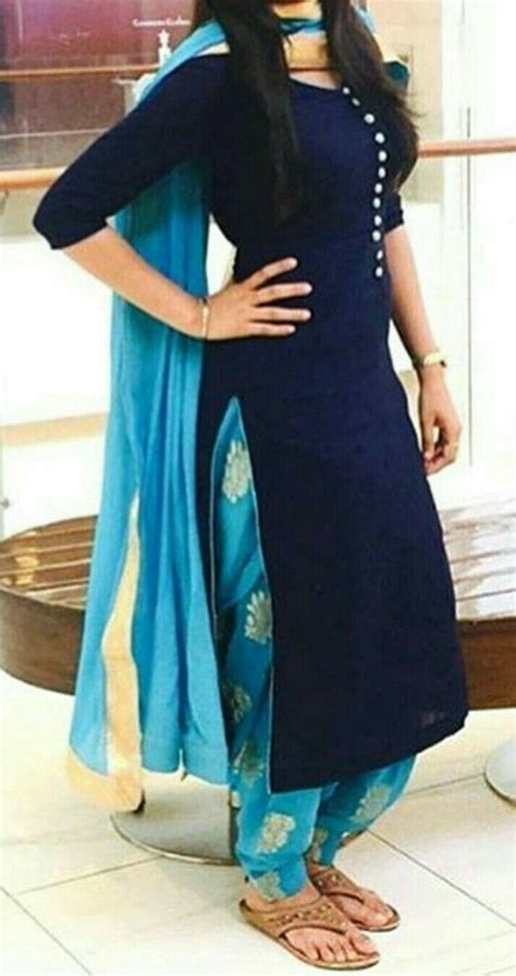 designer panjabi suit indian outfits salwar pattern