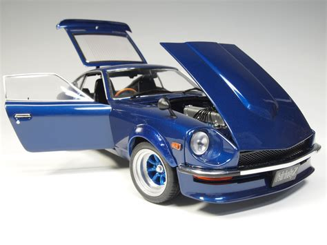 nissan sports car blue 8219 ky8219bl nissan fairlady z s30 metallic blue