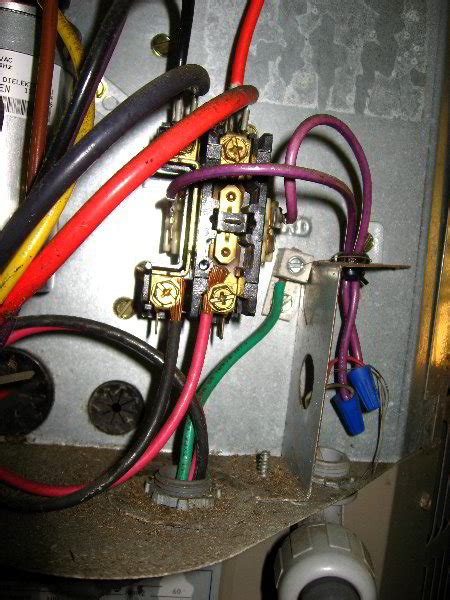 replace hvac dual run capacitor with two capacitors hvac combo start capacitor replacement 013