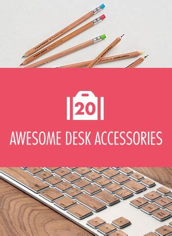 Pep Up Your Workspace 20 Awesome Desk Accessories Movin Awesome Desk Accessories