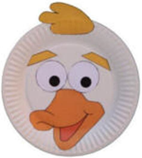 paper plate duck craft duck crafts for