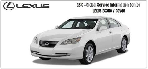 lexus rx350 rx270 repair service manuals