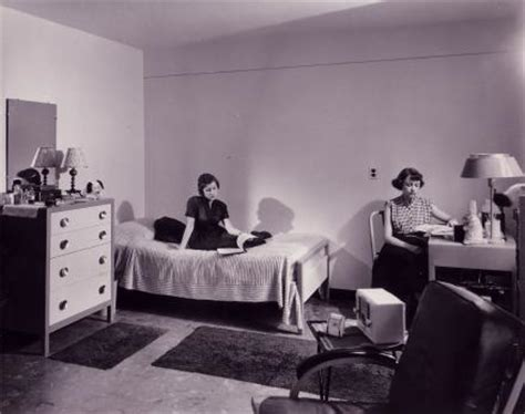 dickinson college rooms an early photo of students studying in a drayer