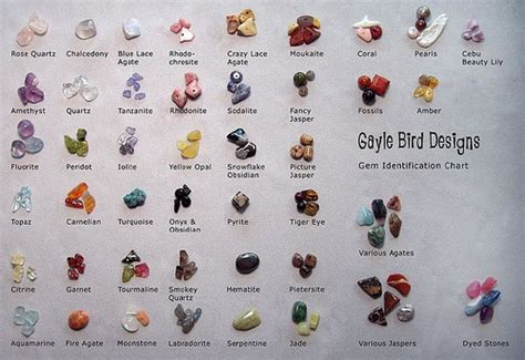 gem identification chart flickr photo