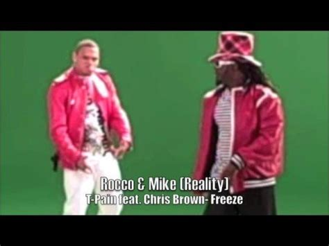 chris brown froze mp t pain feat chris brown freeze behind the scenes at