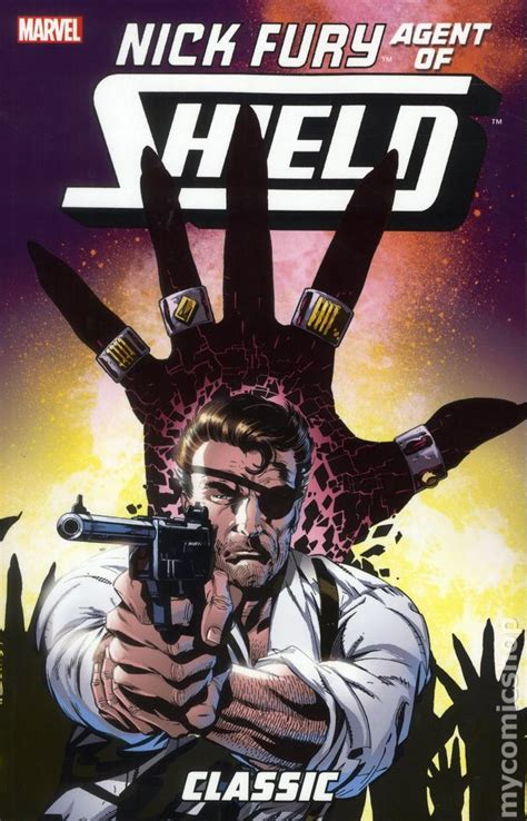 of fury books nick fury of shield classic tpb 2012 marvel comic
