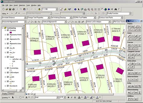 subdivision layout software arcnews fall 2003 issue arcgis used for roadway and