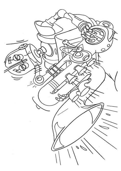 Robots Kleurplaten - DisneyKleurplaten.com