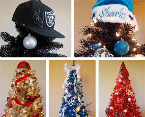 how to make a sports themed christmas tree treetopia blog