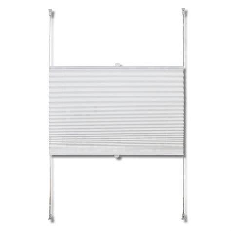jalousie 70 x 200 plisserede blinde 70x200 cm hvid www vidaxl dk