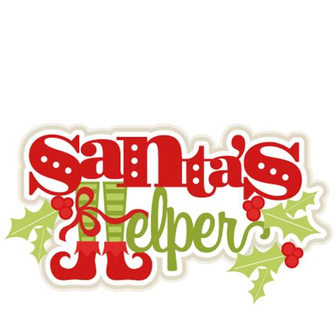 santa s helper santa s helper svg cutting files for scrapbooking cut files svg cut