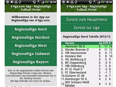 regionalliga west tabelle mobile version handy app 4 liga