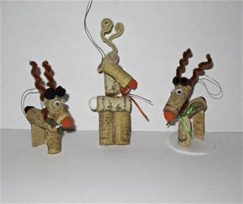 16 diy wine cork reindeer ornaments to try this christmas
