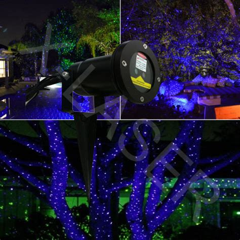 blue laser for outdoor garden lighting christmas