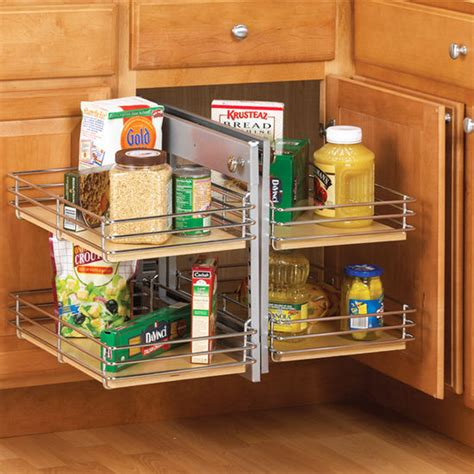 kitchen cabinet slide out blind corner cabinet pull out shelf roselawnlutheran
