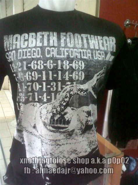 Kaos Macbeth 13 kaos macbeth kaos replika
