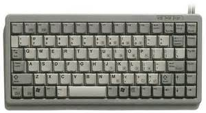 Standard Desk Height Kbc 4100g Usa Cherry Mini Keyboard Grey Ps 2 Usa