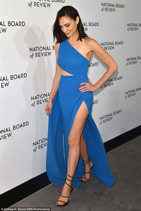 who is the gal in the blue dress in the viagra commercial gal gadot stuns in blue gown at new york gala daily mail