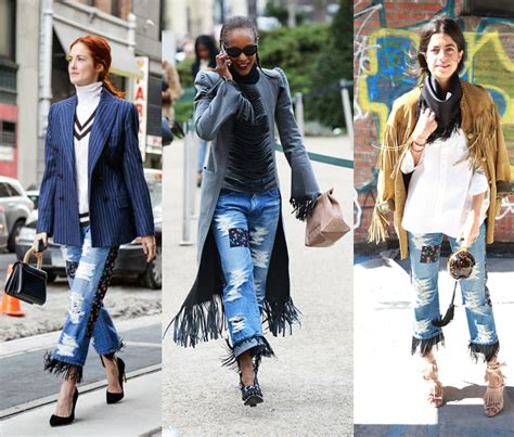 denim for fall 2014 shop 35 trendy styles from they wore then we want now junya watanabe s patchwork
